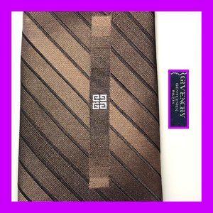 Givenchy copper stripe metallic